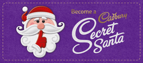 Become a secret Santa